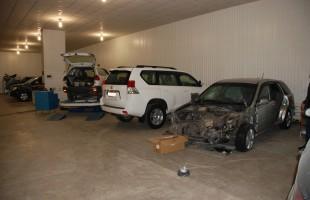 Участок кузовного ремонта